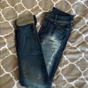 Hudson Ripped Jeans size 26